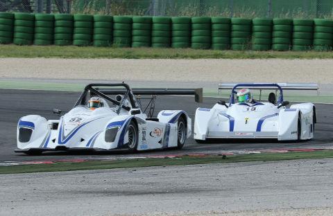 Norbert Groer (Ligier Honda) vor Maurizio Giovannini (Lucchini P3 Alfa)