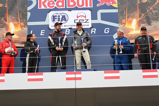 Podium Red Bull Ring SCC 2016